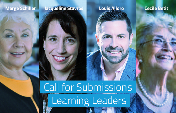 Call for Submissions: Learning Leaders