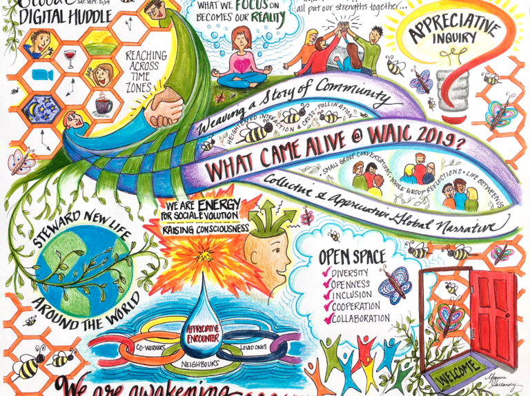 What Came Alive at WAIC 2019 Yvonne Hollandy Illustration