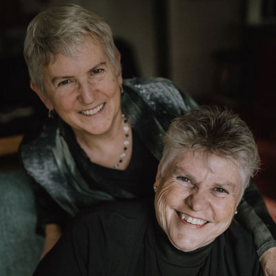 Joan McArthur-Blair and Jeanie Cockell